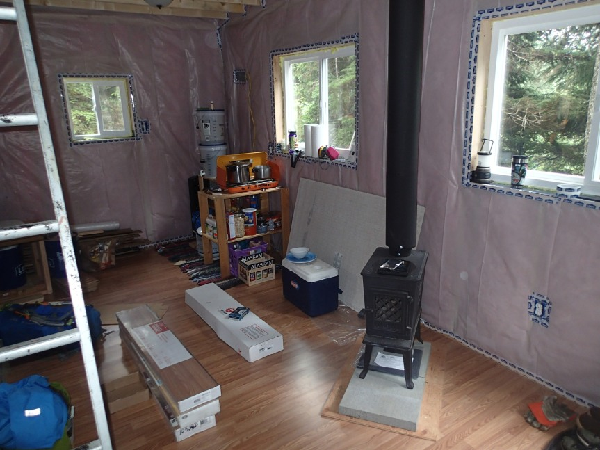 Flooring, fiberglass, and frugality